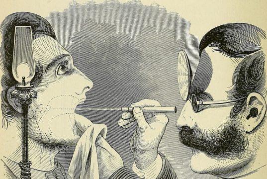 laryngeal mirror