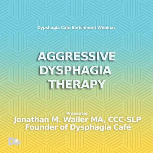 Dysphagia and Webinar