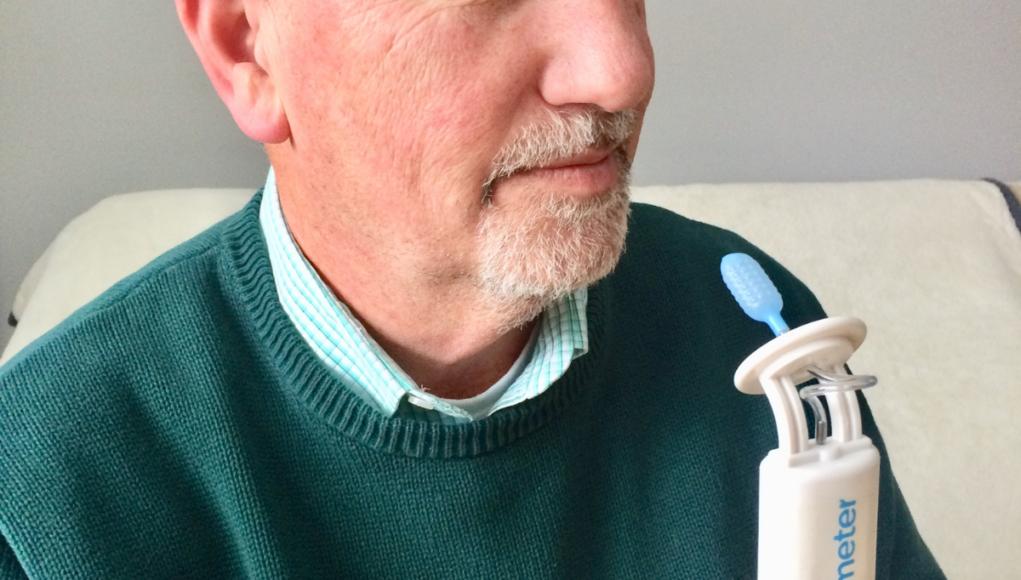 Dysphagia-Man using Tongueometer Device