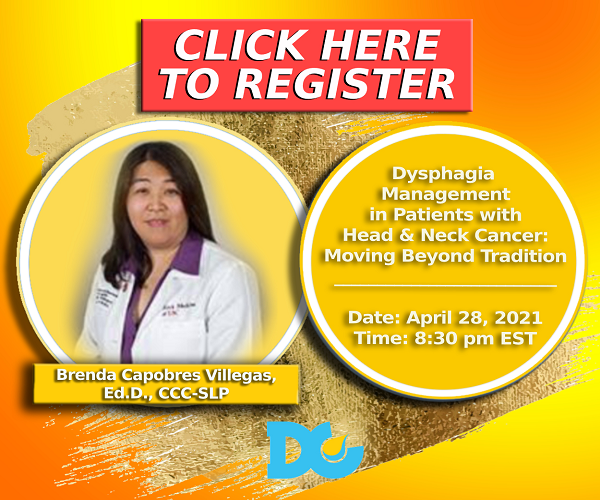 Dysphagia-Head Neck Cancer Webinar