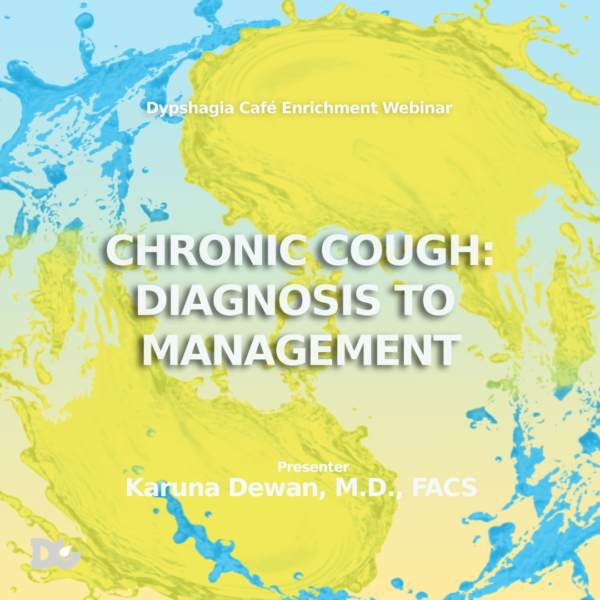 Chronic Cough Webinar
